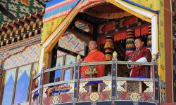 Lam Neten and Dasho Dzongdag